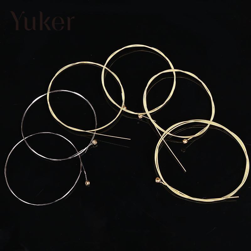 Yuker 6 Pcs String Guitar Original Sound Studio A30 Music Singer Accessories