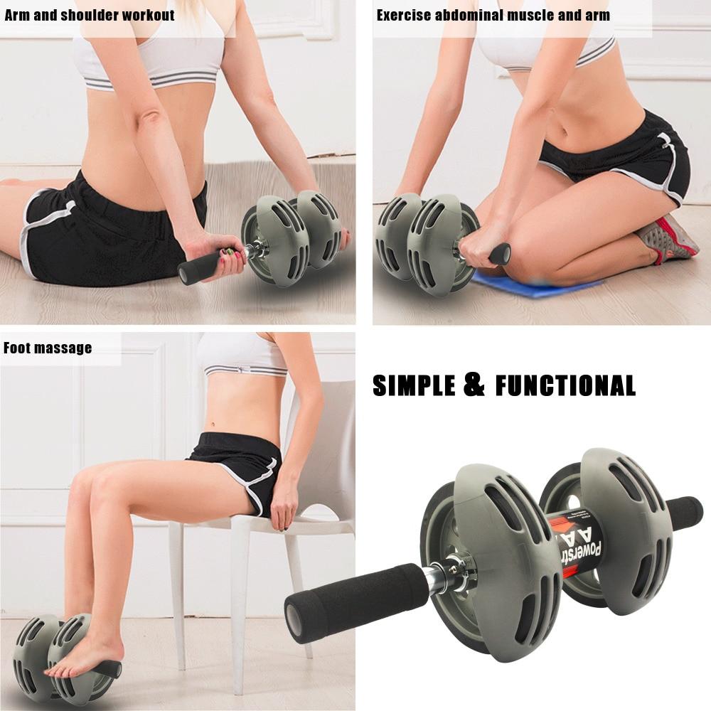 roue abdominale pour machine dexercice /à la maison FARI Roue abdominale pour entra/înement des abdominaux /équipement de r/ésistance de fitness