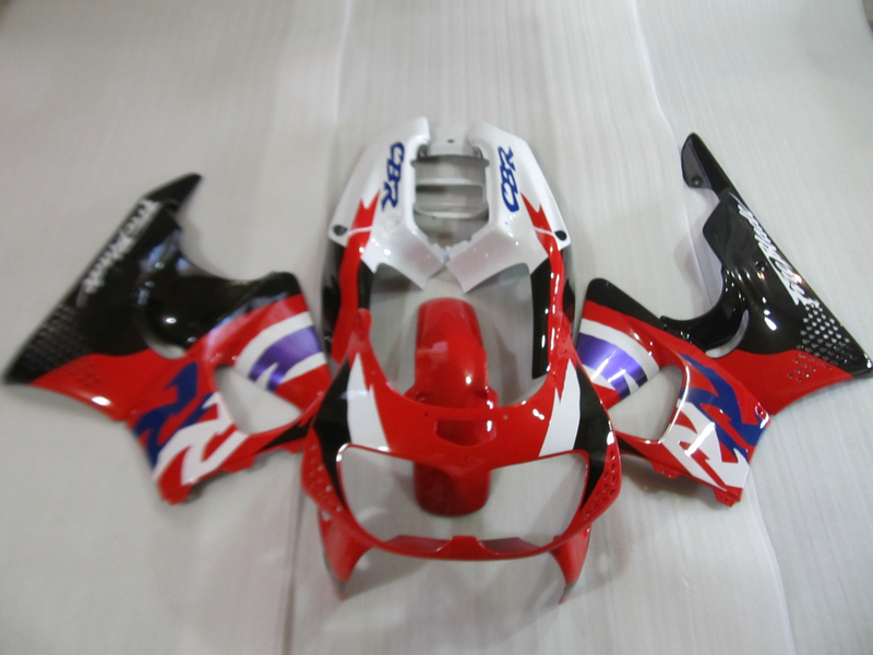 Gratis 7 regali kit carenatura per Honda CBR900RR 1996 1997 rosso bianco nero carenature set CBR900RR 893 96 97 OI17