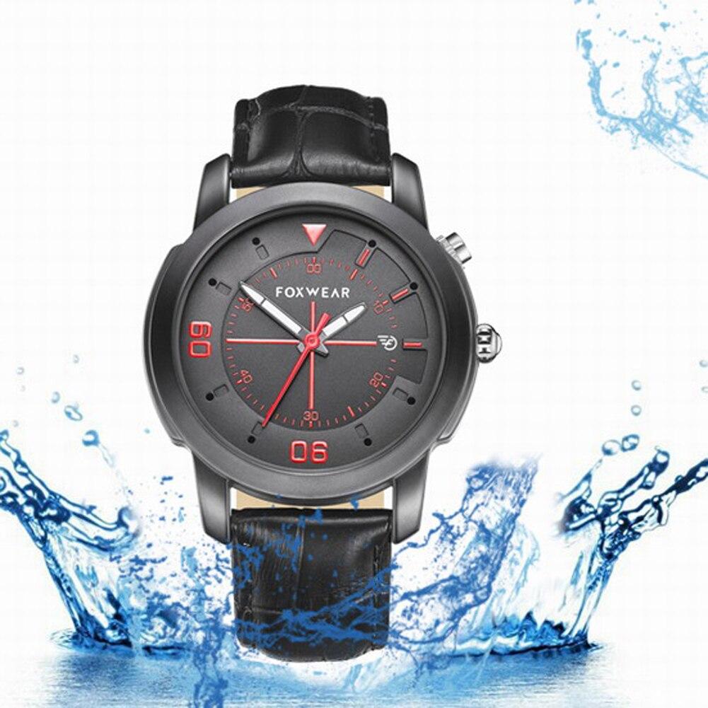 2018 Fashion Waterproof Intelligent Anti-lost Men Smart Watch Quartz Sport Bluetooth 4.0 SmartWatch WeChat QQ Remind For Phone anti lost smart bluetooth 4 0 wallet for men women
