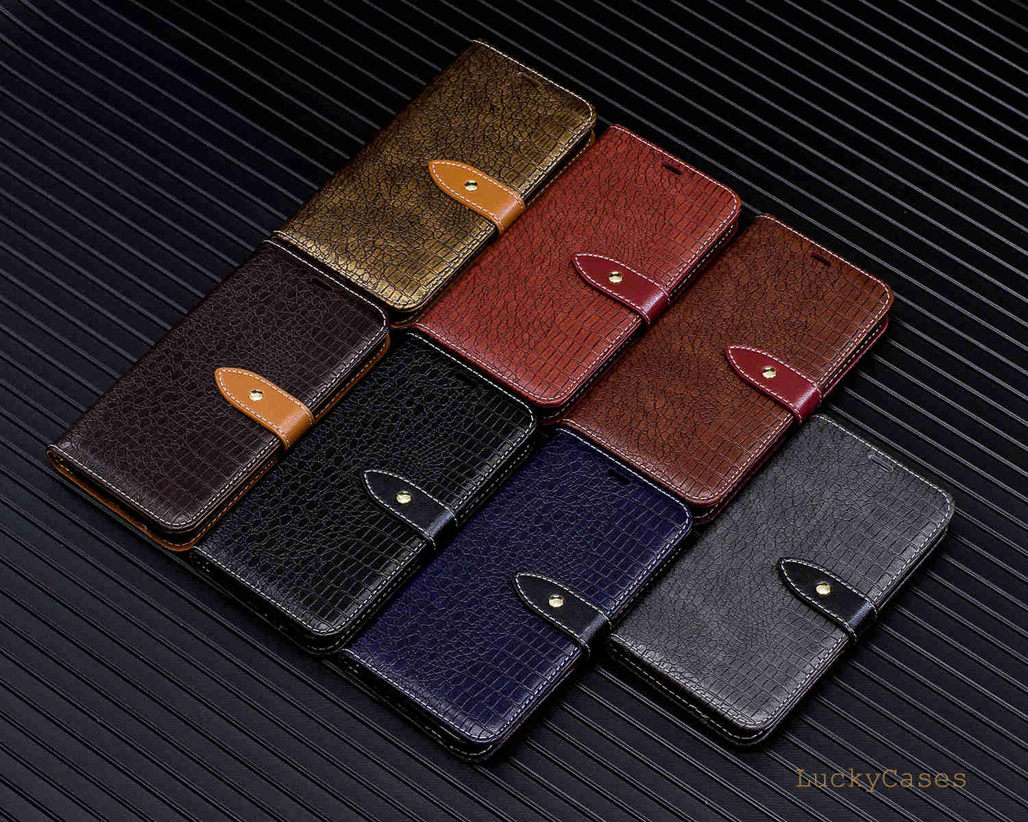 Crocodile Pattern Case for Samsung S7 Case Flip Wallet Leather Cover For Samsung S7 Phone Fundas