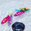 Новый 1 шт. красочные Активированный Батарейках Robo Рыба Игрушки Childen Дети Роботизированная Pet