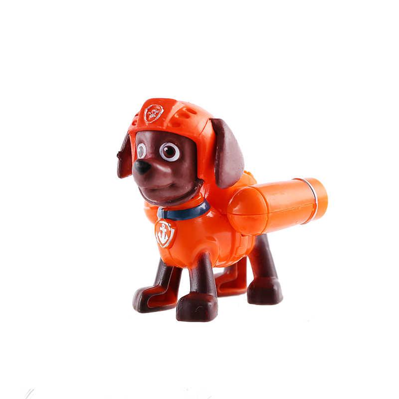 Paw Patrol dog Everest Robo dog Tracker Rider anime action figure puppy present