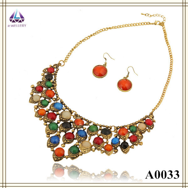 model gold details necklace india with antique weight attigai south latest jewels