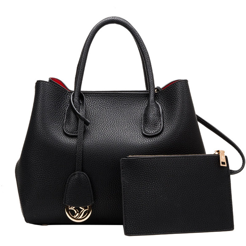 Women Handbag Genuine Leather Totes Female Shoulder Bags Ladies Messenger Bag Lu