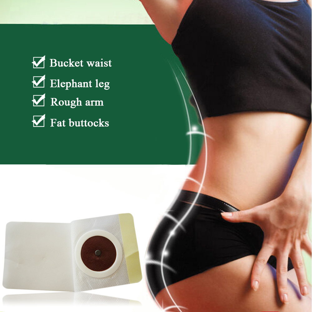 New Fashion Style Magnetic Slim Navel Stick Patch Diet Weight Loss Burning Sliming Body Health Drop Shopping in Massage Relaxation from Beauty Health