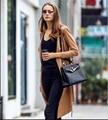 Hot 2016 женщин мода британский длинные стиль элегантный искусственной замши плащ / дизайнер поясом тонкий пр свободного покроя тренч / верхняя одежда топ