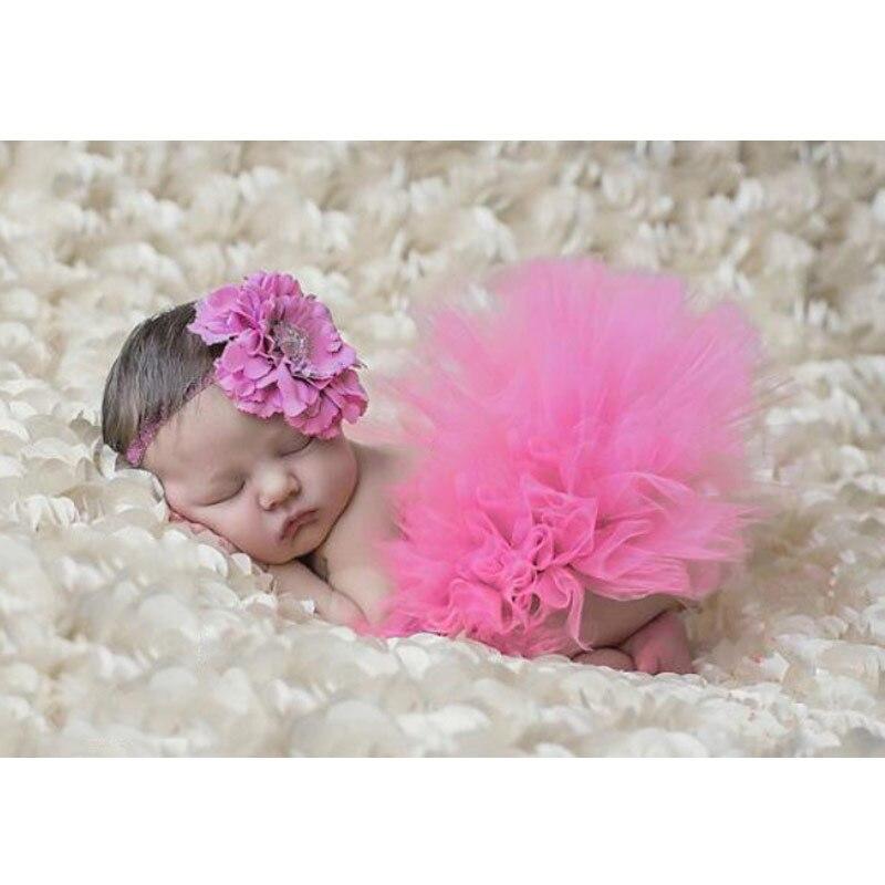 Реквизит для фотосессии новорожденных; юбка для девочек; юбка-пачка принцессы с бантом; фатиновая повязка на голову с цветочным рисунком; вязаная шапка для фотосессии - Цвет: 3