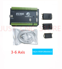 EC500 Mach3 Ethernet  6 axis motion controller card plc programmable logic controller motor speed controller цена