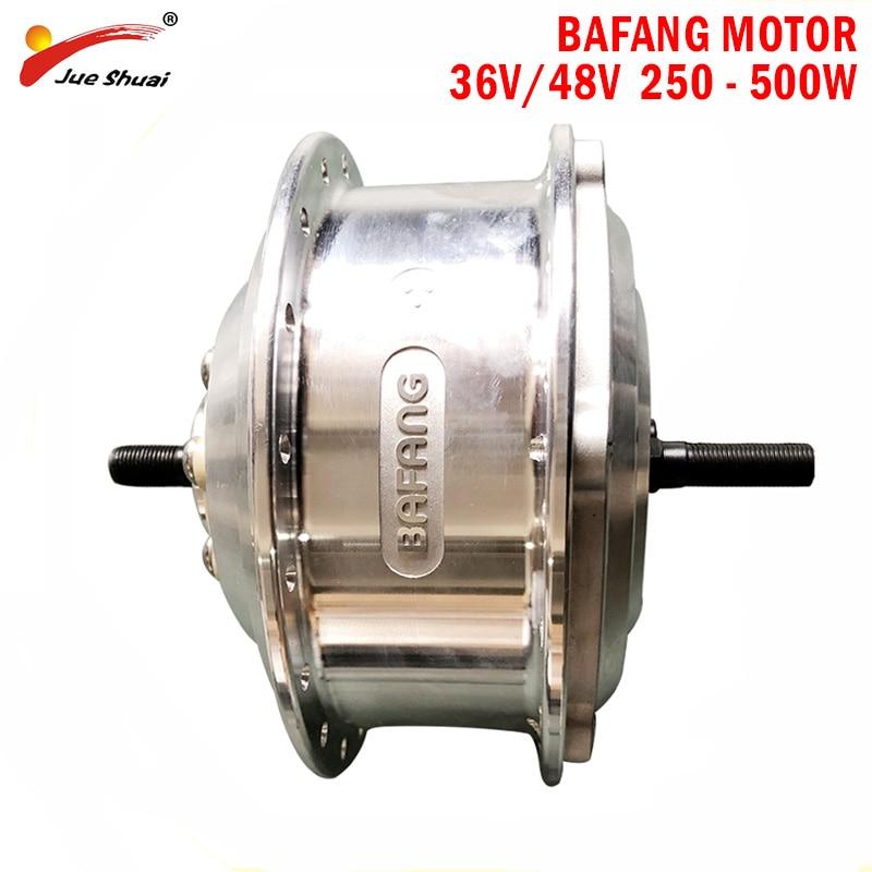 BAFANG 48V/36V 500W Electric Bike Hub Motor V/ Disc Brake City Bike MTB Front Rear Motor Drive Ebike Motor Brushless Gear Motor