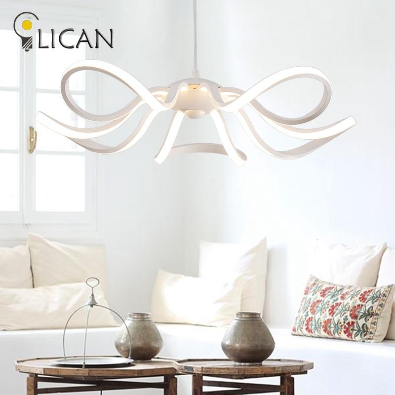 LICAN Dia550mm Minimalism DIY Hanging Modern Led Pendant Lights For Dining Room Bar suspension luminaire suspend Lamp Fixtures