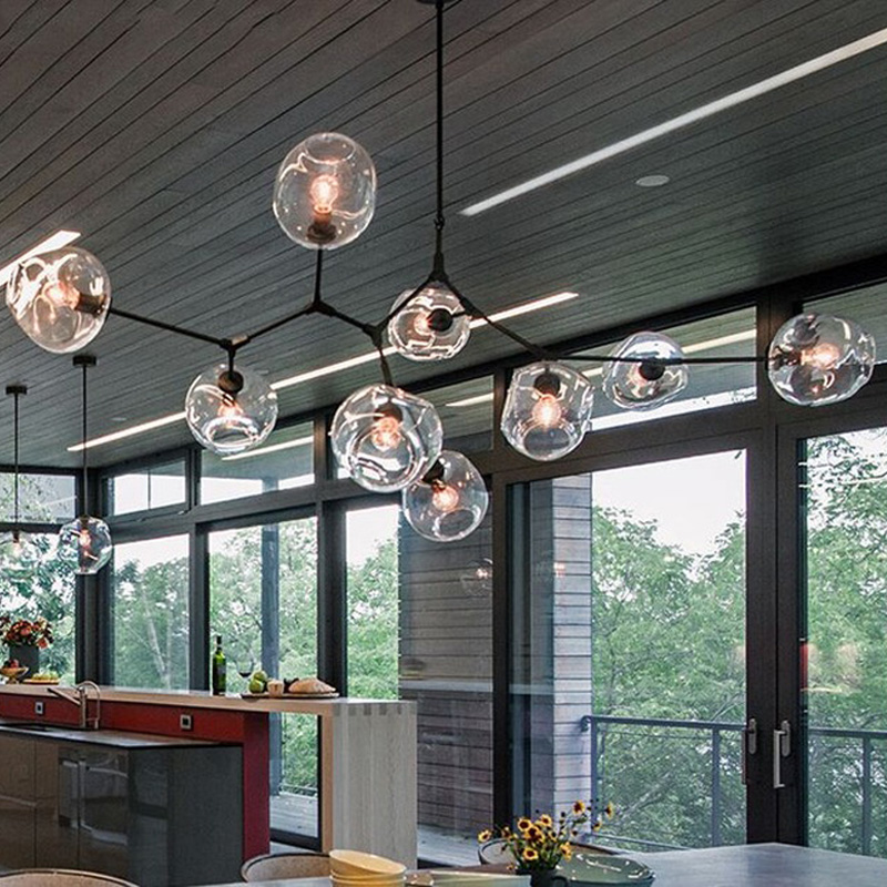 Lindsey Adelman Chandeliers lighting modern lamp novelty pendant lamp natural tree branch suspension light hotel dinning room футболка insight lindsey gooden tee dusted