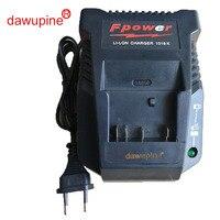 dawupine 1018K Charger For Bosch Electrical Drill 18V 14.4V Li ion Battery BAT609 BAT609G BAT618 BAT618G BAT614 2607336236