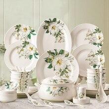 Chinese ceramic dishes servies set borden ceramic dinner set tableware
