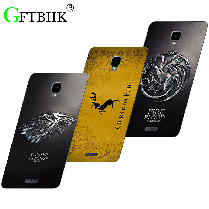 Cute Cartoon Case For Lenovo S660 S 660 Soft Silicone Pattern Shell Bag Fashion Printed Cover Game of Thrones 7
