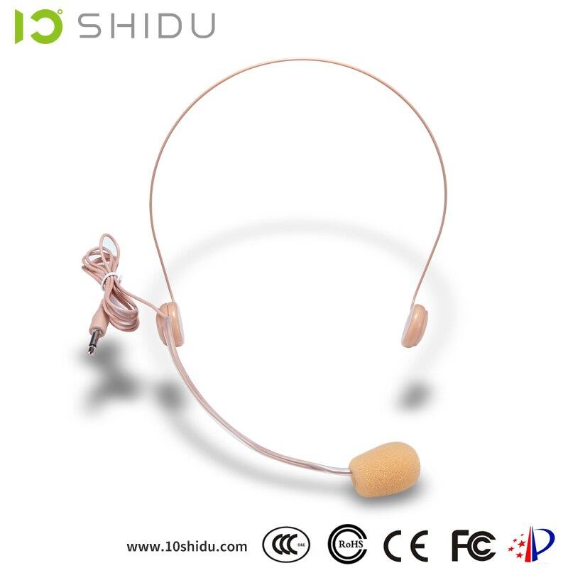 SHIDU nya trådlösa mikrofoner för bärbara röstförstärkare - Bärbar ljud och video