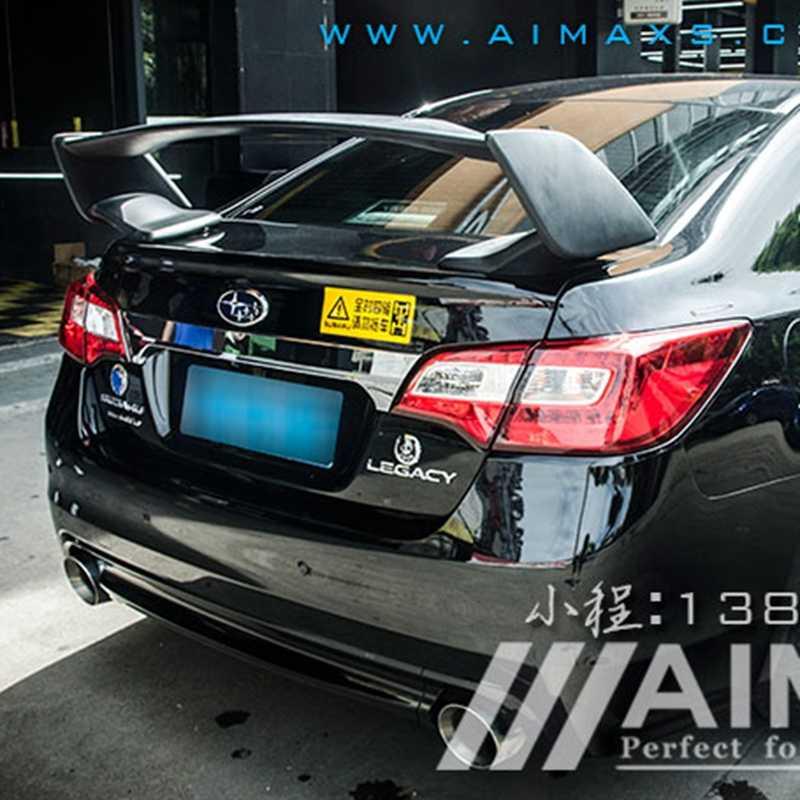 Sti Styling For Subaru Legacy Carbon Fiber Rear Trunk Boot Wing Spoiler 2016 2017 2018