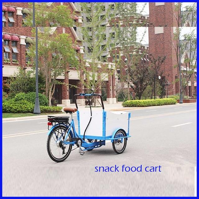 New Design Mobile Coffee Carts Coffee Bike Discount Mobile Food Cart