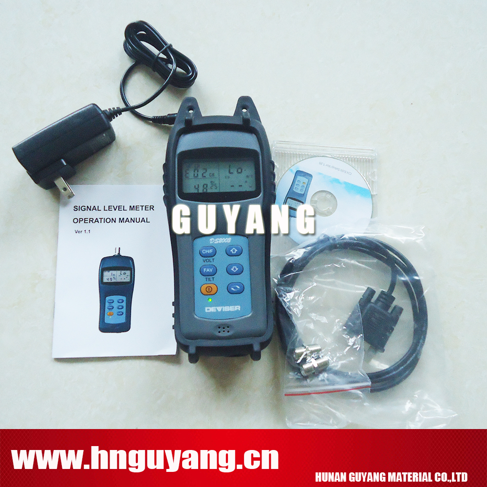 Deviser DS2003 Handheld Signal Level Meter Level Frequency Range :46 MHz ~ 1 GHzDeviser DS2003 Handheld Signal Level Meter Level Frequency Range :46 MHz ~ 1 GHz