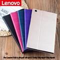 Shell protector/piel case de cuero protectora para lenovo tab 2 a8 a8-50 a8-50f a8-50lc 8 ''pc de la tableta tb3-850f tb3-850m