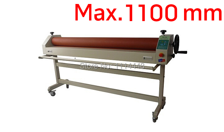 все цены на Manual Electronic Cold Laminator with stand Cold Roll Laminating Machine Max. 1000mm онлайн