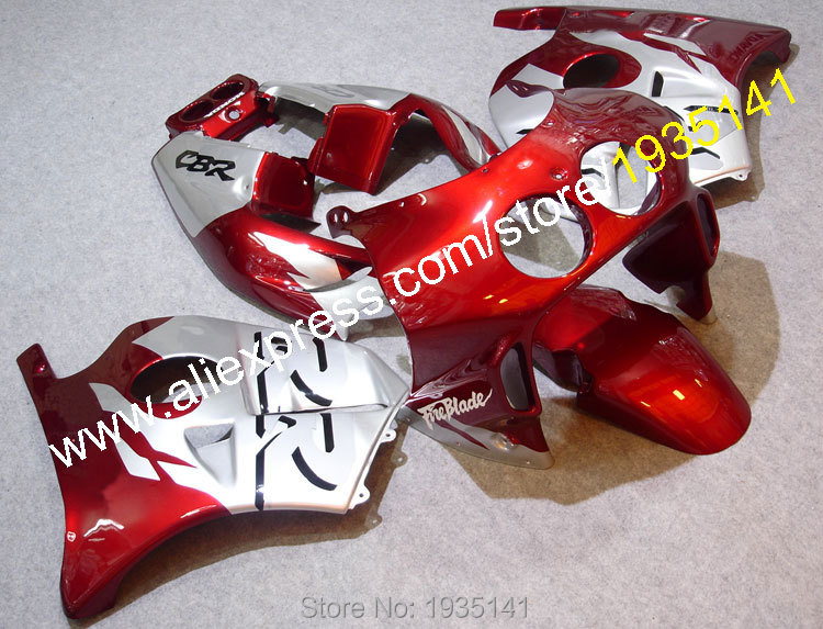 Hot Sales,For Honda CBR250RR 1990-1994 MC22 CBR 250 RR 90-94 Red Silver Bodyworks ABS Motorcycle Fairing (Injection molding) hot sales hot sale cbr 600 f2 1991 1992 1993 1994 for honda cbr600 f2 1991 1994 movi star motorcycle fairings