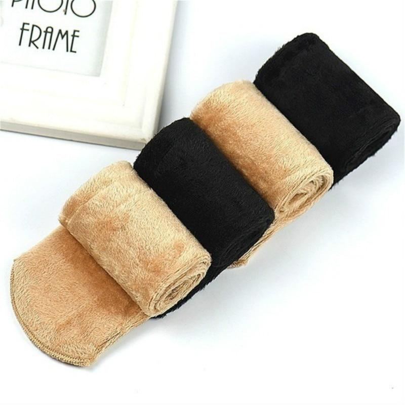 1 Pair Women 39 s Girls 39 Socks Autumn Winter Cotton Socks Thickening Casual Home Floor Socks Snow Thermal Keeping Warm Socks in Socks from Underwear amp Sleepwears