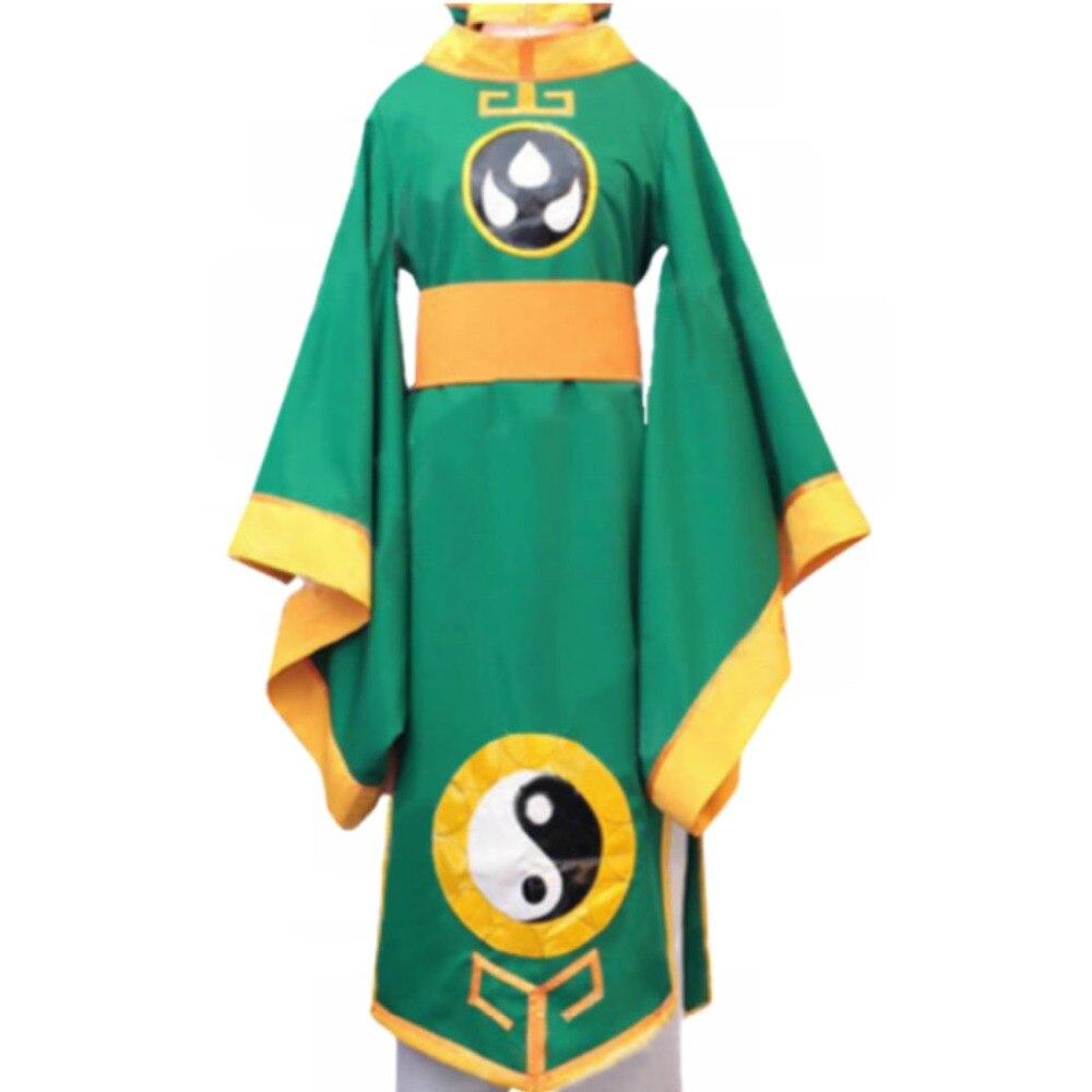 2018 Card captor Sakura Syaoran Li Cosplay Costumes Anime Chinese Robe Cardcaptor Men Women Uniform for