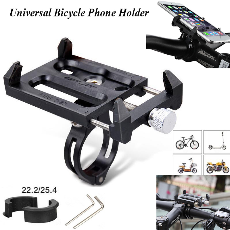 Universal Anti-Slip Bicycle Bike Phone Holder Motorcycle Electric Car Mount Bracket For iphone Samsung Handlebar Clip Stand O3