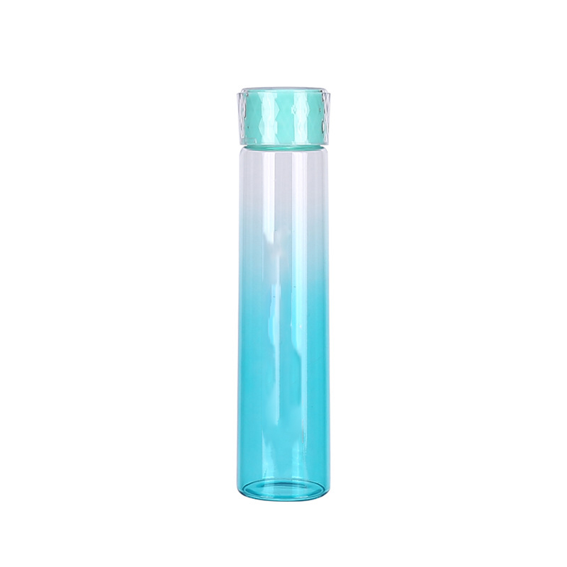Vidrio De borosilicato Botella de Agua Libre de BPA Botella de Agua A Prueba de