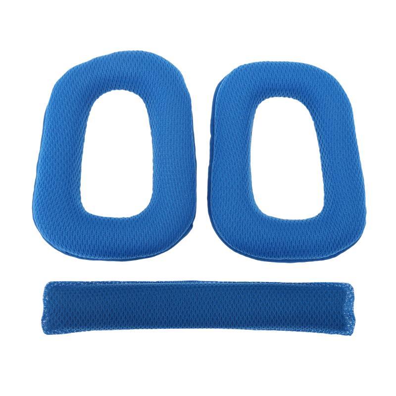 1 Par De Almohadillas De Repuesto 98*78mm Almohadillas De Oreja Con Almohadilla De Cojín De Diadema Para Logitech G430 G930 Auriculares