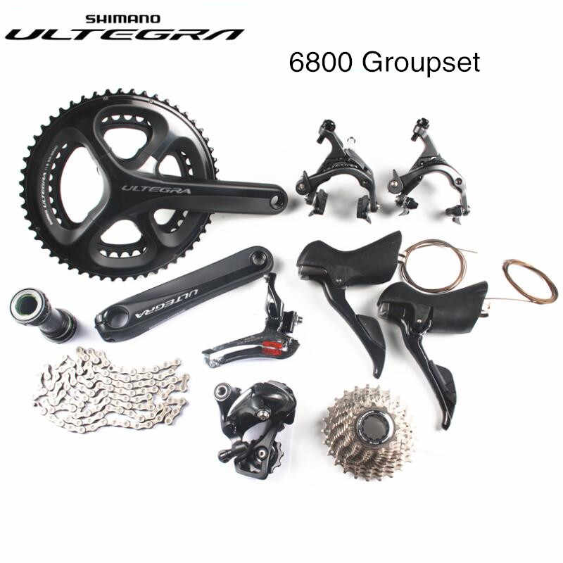 a613f254bba Shimano Ultegra 6800 road bike bicycle 11 22 speed grouspet update Ultegra  R8000 group set 170mm