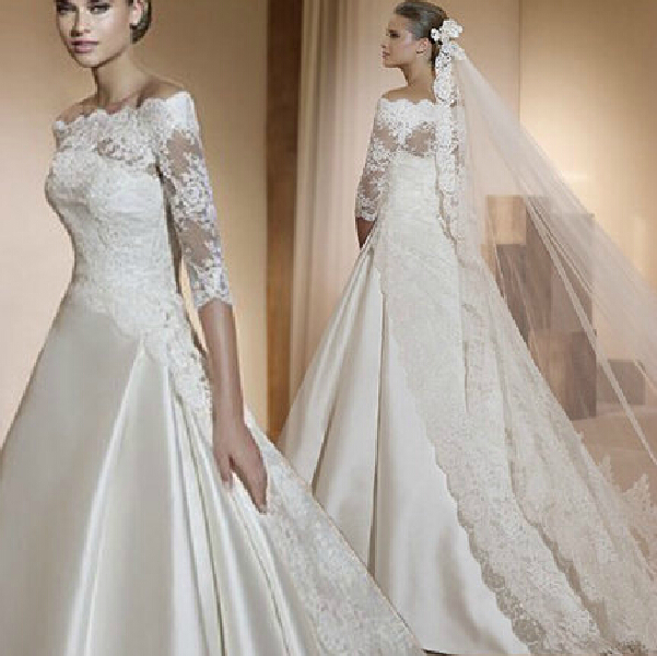 Wedding Dress 2015 Fashion Vestidos Winter Dress The Princess Bride ...