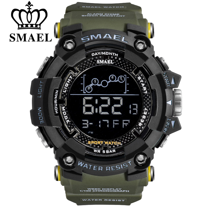 SMAEL Watch Men Digital Multifunction Outdoor Sports New-Fashion Relogio Casual Masculino
