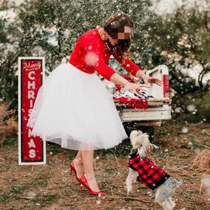 Image 2 - 5 שכבות טול חצאית נשים קיץ כדור שמלת Midi חצאיות נקבה גבוהה מותן טוטו קפלים Faldas לנשים בית ספר שמש נהיגה לראשונה חצאית