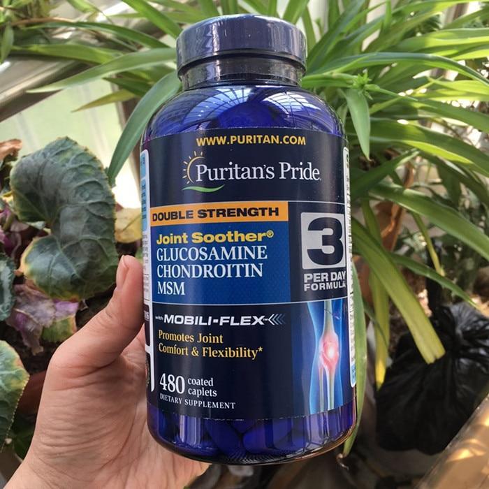 미국 원산지 이중 강도 glucosamine chondrotitn msm 공동 편안함 및 유연성 480 pcs 촉진-에서마사지&릴렉스부터 미용 & 건강 의  그룹 1