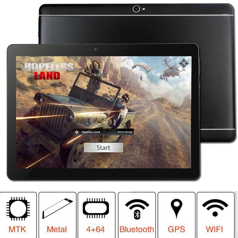 Новый 2019 MT8752 S109 64 Гб Встроенная память 10,1 'Планшеты Android 8,0 8 Octa Core Dual Камера 5MP двойной планшет с сим-картой PC gps bluetooth телефон