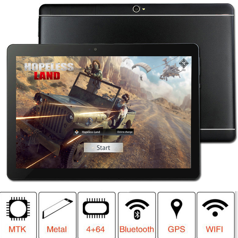 NEW 2019  MT8752 S109 64GB ROM 10.1' Tablets Android 8.0 8 Octa Core Dual Camera 5MP Dual SIM Tablet PC  GPS Bluetooth Phone