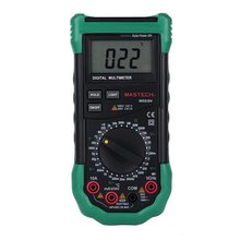 Mastech ms8264 handheld dmm digital multimeters w/ temperature.