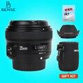 Yongnuo YN35mm F2 объектив широкоугольный Большой Апертурой Фиксированная Автофокуса объектив для nikon D7100 D3200 D3300 D5100 D3100 D90 DSLR камеры