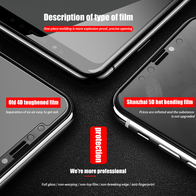 ZNP 5D Screen Protector Tempered Glass For Xiaomi Redmi Note 7 5 Pro Redmi 4X 7A 7 6 Protective Glass For Redmi 5 Plus k20 Film 2
