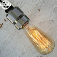 Lightinbox 5pcs Incandescent Lamp Light Bulb Wholesale Vintage Edison Bulb Light Lamp ST64 AC 110V 220VE27
