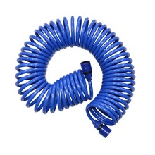 10M,15M Spring Hose Retractable No Knot Telephone Line Style Garden Watering Irrigation Car Washing Hose With Quick Connector