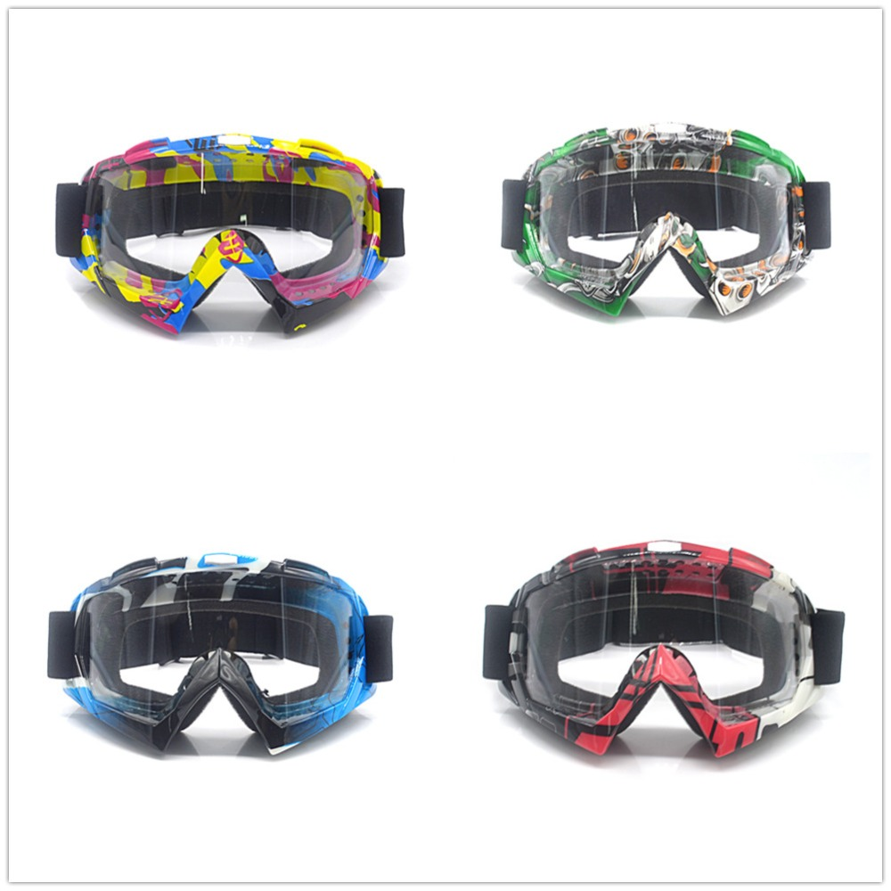Outdoor Motorcycle Goggles Sport Racing Off Road Oculos Lunette Motorcycle Goggles Glasses For Motorcycle Dirt Bike(China)