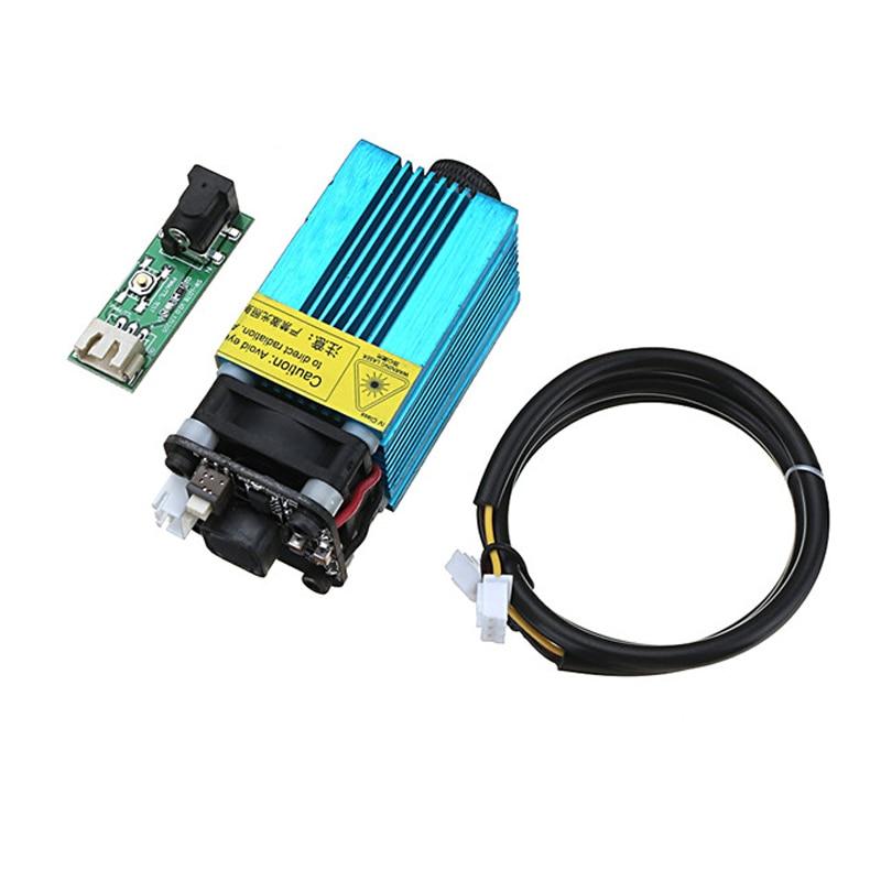 High Quality EL01-2500 445nm 2500mW Blue Laser Module PWM Modulation 2.54-3P DIY Engraving Machine