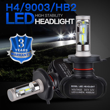 Bevinsee CSP LED Headlight Bulbs Head Light Lamp For Bombardier DS 450 EFI X xc XM 2009 ATV Bikes High Low Beam Dustproof