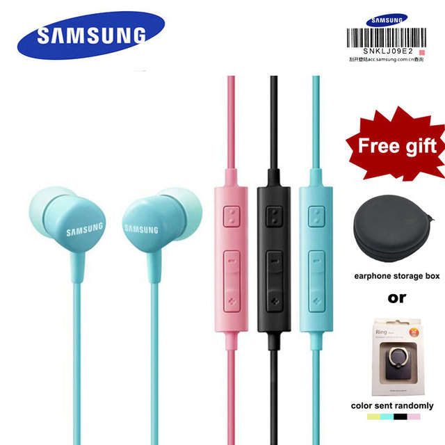 e498b7cbef5 SAMSUNG Original HS-130 Wired 3.5mm In-ear Headset with Micr 5 Color  earphone for Samsung Galaxy S8 S8Edge Support Official Test