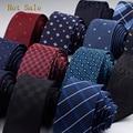 2016 Homens Novos Da Marca Gravatas Moda Dot Listrado Xadrez Gravata Hombre 6 cm Gravata Fina Gravata Clássico Casamento Negócios Gravata Para homens
