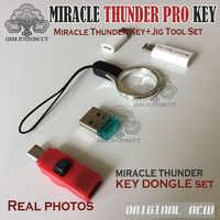 2019 Miracle Thunder pro dongle Набор кабель edl & miracle boot Jig Emmc решение FRP Flash общий режим нет необходимости Чудо коробка/ключ