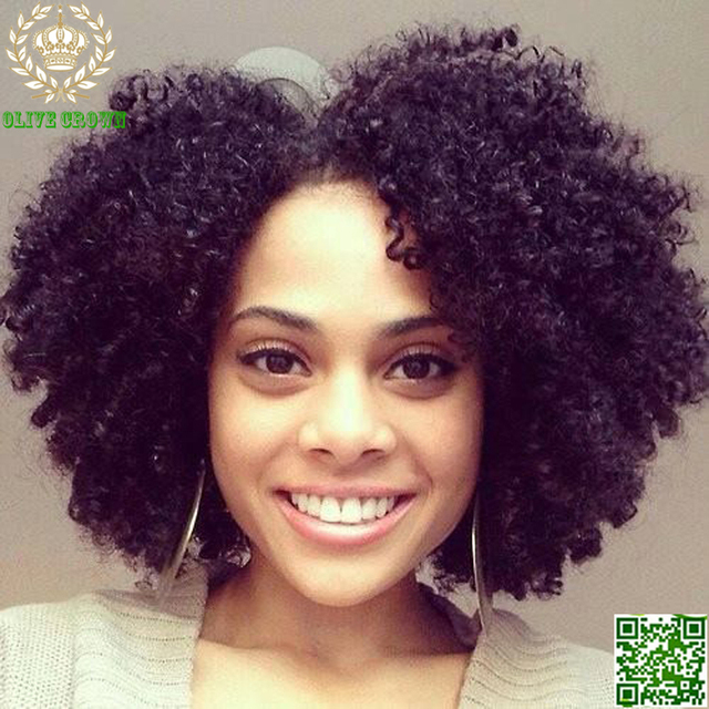 Afro Kinky Curly U Part Human Hair Wigs Bob Virgin Mongolian Upart Wig Human  Hair Lace Front Wigs Afro Curls Nautral Black Sale 5c6c38198